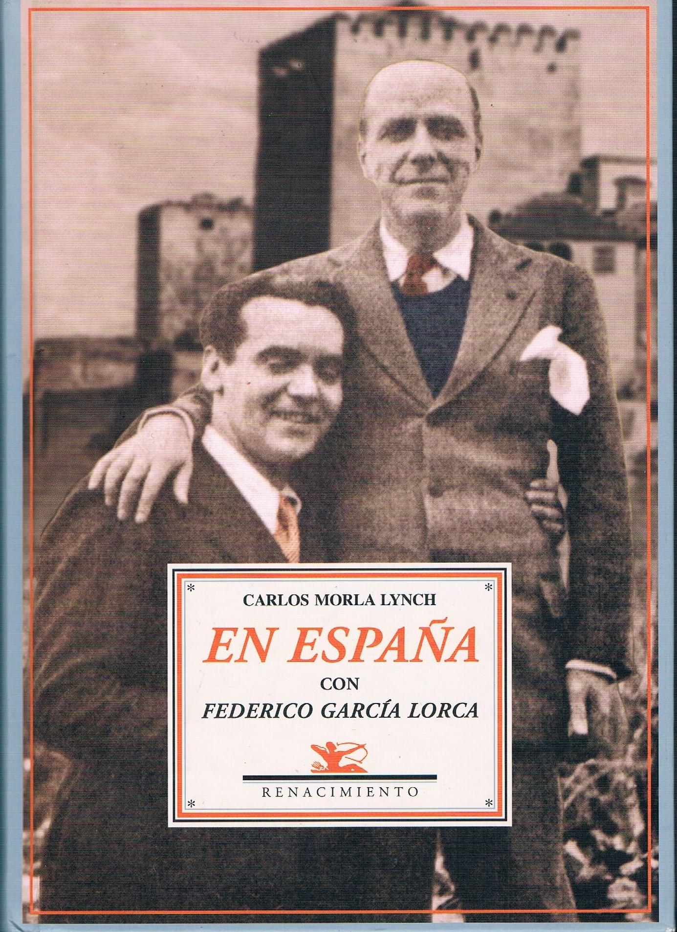 """Portada del libro de Carlos Morla Lynch """"En España con Federico García Lorca"""""""