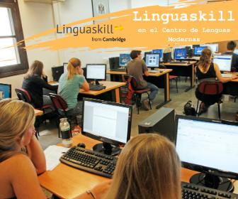 Aula de informática del Centro de Lenguas Modernas.