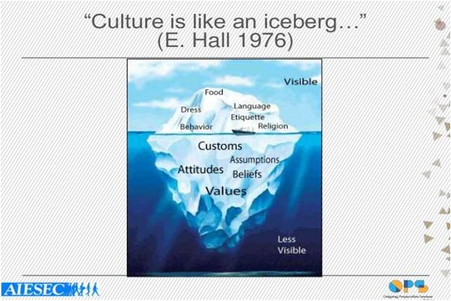 The Cultural Iceberg